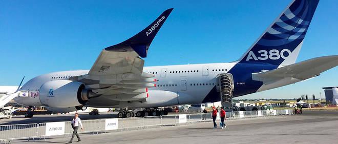 Le modèle A380plus d'Airbus.