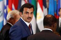 l'émir du Qatar, le cheikh Tamim bin Hamad al-Thani assiste à la 71e session de l'Assemblée générale de l'Organisation des Nations Unies, le 20 septembre 2016. ©LUCAS JACKSON