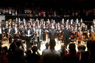 Le concert en hommage aux musiques de Uematsu à la Philharmonie de Paris.