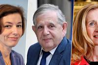 Florence Parly, Jacques Mézard et Nicole Belloubet.
