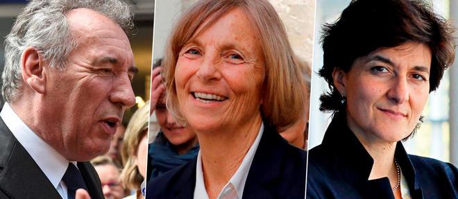 François Bayrou, Marielle de Sarnez et Sylvie Goulard ont quitté le gouvernement.