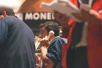 La Bourse de Paris en baisse. ©JOEL SAGET