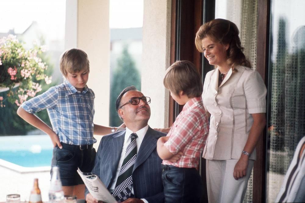 Famille Kohl ©  SVEN SIMON / picture-alliance / Picture-Alliance/AFP