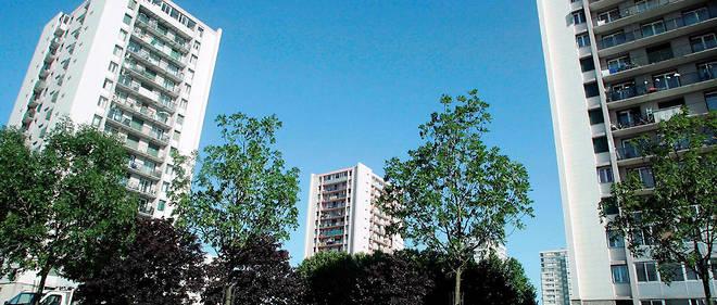 La cité Courtille à Saint-Denis. Alexandra B. affirme avoir subi des attouchements au niveau de la poitrine de la part de ses agresseurs.
