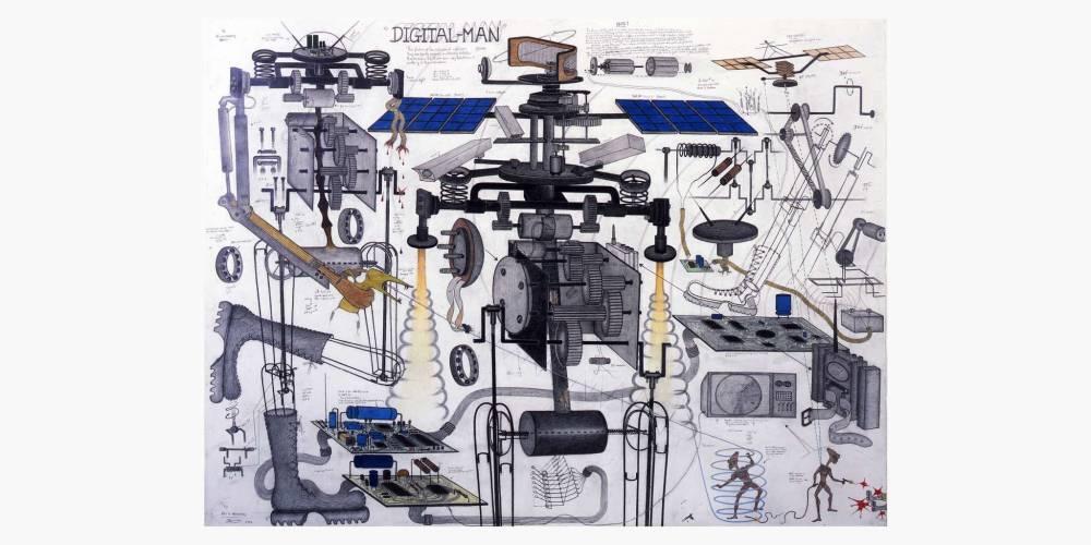 Art/Afrique. Le nouvel atelier / Vue d'exposition.  ©   Iwan Baan / Fondation Louis Vuitton