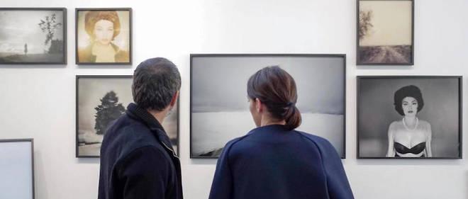 Dans les coulisses de la foire Paris Photo, en 2014.