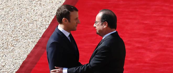 """""""Grâce sera rendue à François Hollande d'avoir découvert,  """"inventé"""", mis en avant et, d'une certaine façon, formé M. Macron."""""""