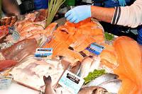 Les poissons gras (saumon, maquereau, hareng …) sont riches en oméga-3 ©ALLILI MOURAD/SIPA