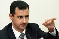 Le président syrien Bachar el-Assad. ©Yuri Kadobnov