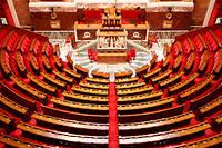Du haut de son perchoir, le président de l'Assemblée nationale ne fait pas que la discipline dans l'hémicycle.