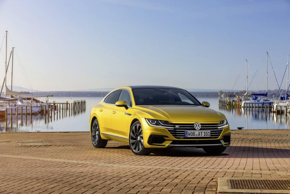La Volkswagen Arteon, l'expression même de l'anti-SUV © MARTIN MEINERS MARTIN MEINERS / Volkswagen