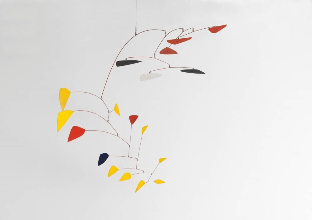 Mobile sur deux plans, 1962 © Philippe Migeat 2017 Calder Founda8on New York / ADAGP, Paris Musée Na8onal d'art moderne, Centre Pompidou, Paris – AM1514S Photo © Centre Pompidou, MNAM-CCI, Dist.RMN-Grand Palais /