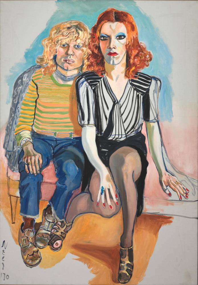 Expo Alice Neele, Jackie Curtis et Ritta Redd, 1970 © Camera 3 The Cleveland Museum of Art, Leonard C. Hanna, Jr. Fund 2009.345