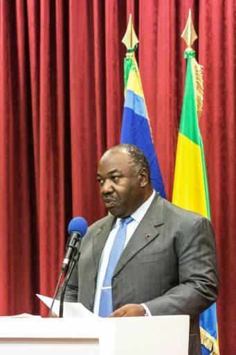 Ali Bongo Ondimba à Libreville le 1er septembre 2016 © MARCO LONGARI AFP/Archives