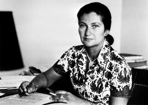 Simone Veil à Paris, en 1974 © - AFP/Archives