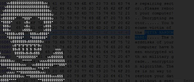 Selon le cabinet Shodan, le virus GoldenEye a infecté plus de 2 millions d'ordinateurs depuis le 27 juin.