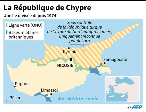 La République de Chypre © Paz PIZARRO, Aude GENET AFP