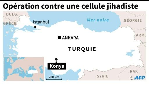 Opération contre une cellule jihadiste © Vincent LEFAI AFP