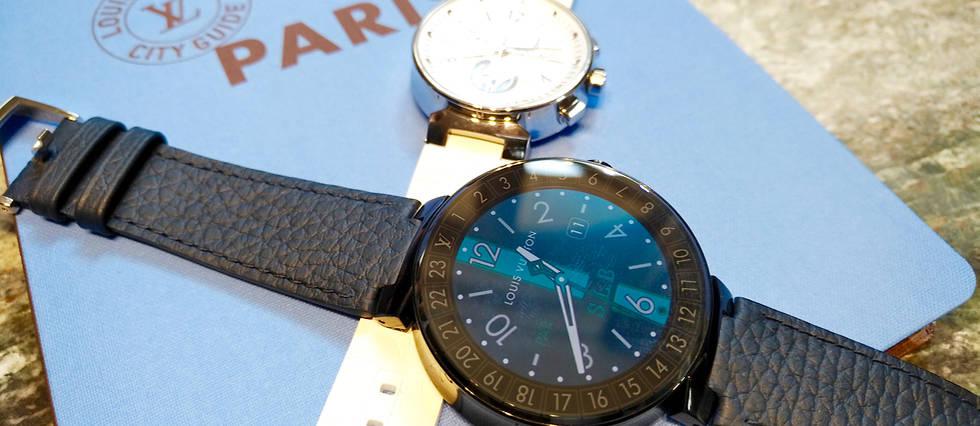 Louis Vuitton franchit le pas de la montre connectée, mais à sa façon.