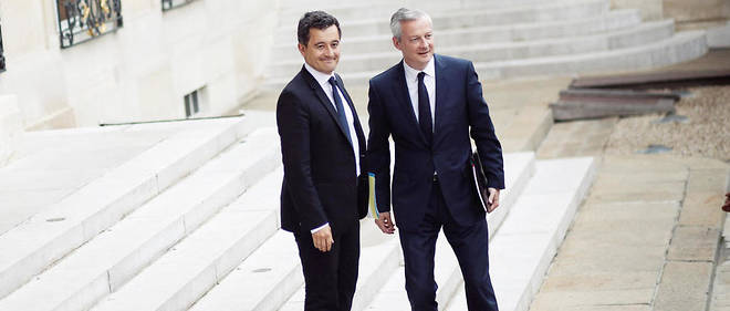 Gerald Darmanin et Bruno le Maire ont presente leur strategie de finances publiques devant la commission des Finances de l'Assemblee nationale.
