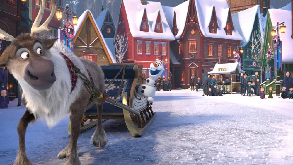 OLAF'S FROZEN ADVENTURE © Disney Disney
