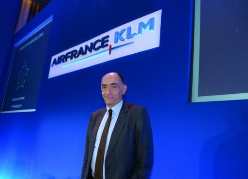 Le PDG d'Air France, Jean-Marc Janaillac, à Paris le 16 février 2017 © ERIC PIERMONT AFP/Archives