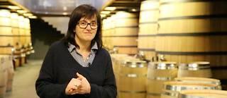 Véronique Corporandy est maitre de chai depuis 2006 pour les domaines du château Soutard (grand cru classé), du château Larmande (grand cru classé) et du château Grand Faurie La Rose (grand cru), trois propriétés du groupe AG2R La Mondiale produisant du St Emilion en Gironde. ©Pauline Tissot