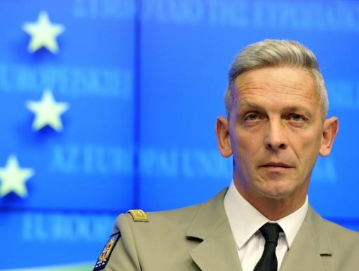 François Lecointre, le 5 mars 2013 à Bruxelles © GEORGES GOBET AFP/Archives