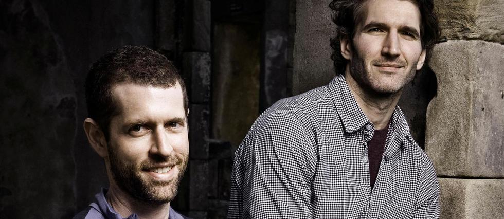D. B. Weiss (à gauche) et David Benioff.
