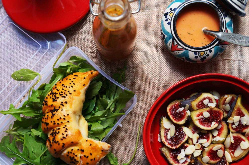 Lunch box d'inspiration tunisienne par Afro-cooking.  ©  Afro-cooking magazine