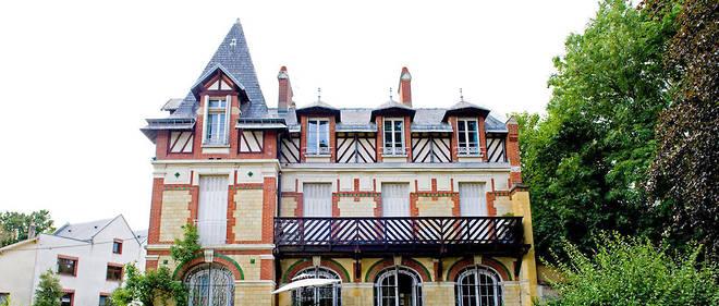 Le pavillon jaune qu'habitait Ricoeur dans la propriété des Murs blancs