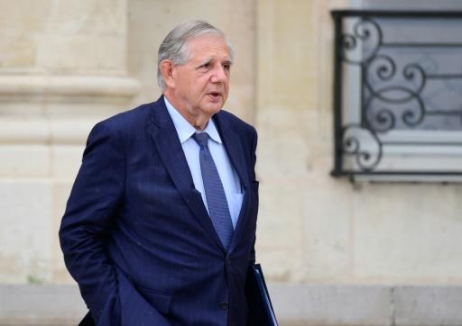 Le ministre de la Cohésion des Territoires Jacques Mézard, le 19 juillet 2017 à Paris © Martin BUREAU AFP/Archives