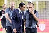 Unai Emery et Leonardo Jardim, les entraîneurs du PSG et de Monaco. ©Jean-Franois OTTONELLO