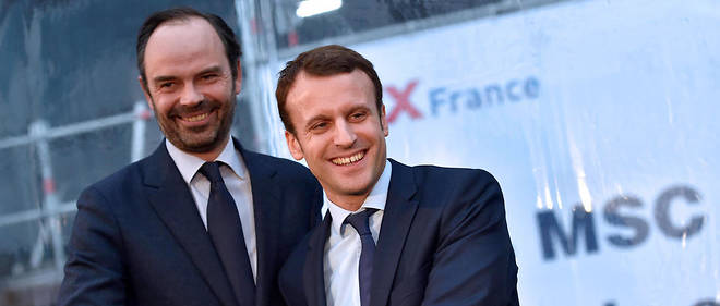 Emmanuel Macron et Édouard Philippe : première alerte sondagière !