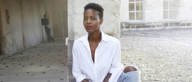 La chanteuse et actrice Dorothée Munyaneza, à la Chartreuse de Villeneuve-lès-Avignon.