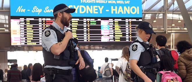 La sécurité a été renforcée dans les aéroports australiens.