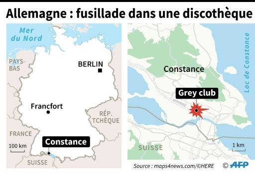 Allemagne : fusillade dans une discothèque © Sophie RAMIS AFP