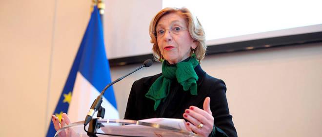 Nicole Bricq a été ministre au cours du quinquennat de François Hollande.