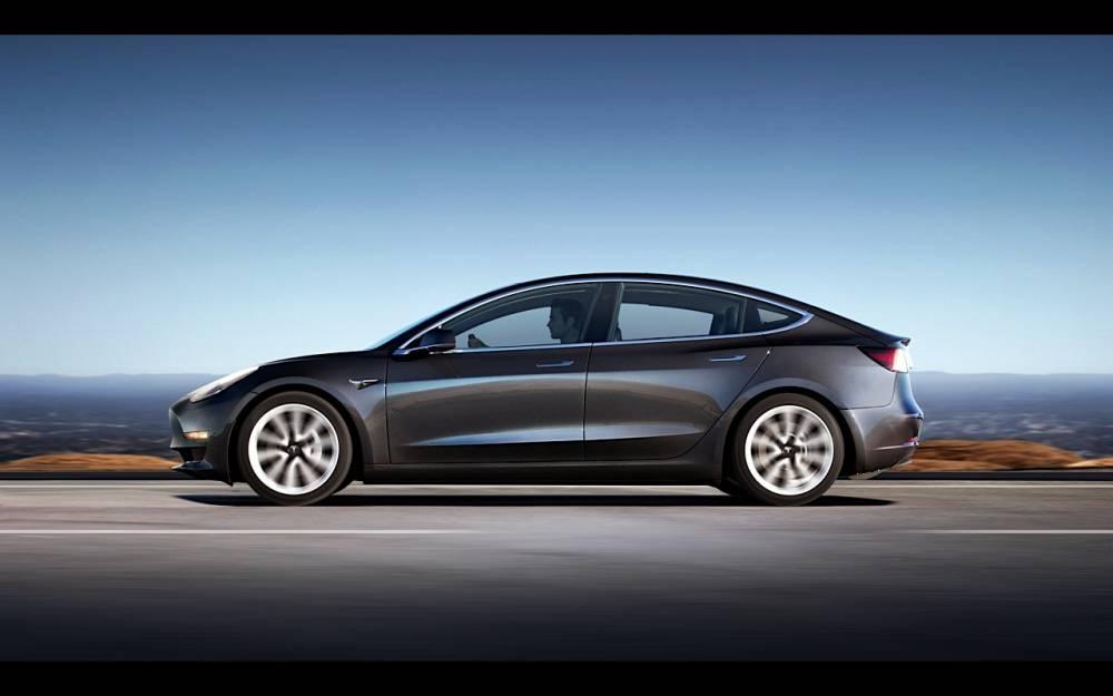Tesla Model 3 ©  Tesla