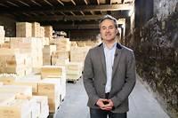 Jean-Baptiste Bourotte est l'arrière-petit-fils du fondateur de la maison de négoce Jean-Baptiste Audy, et directeur général de la société depuis 2003. ©Pauline Tissot
