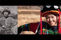 Homme et femme du peuple Moso.