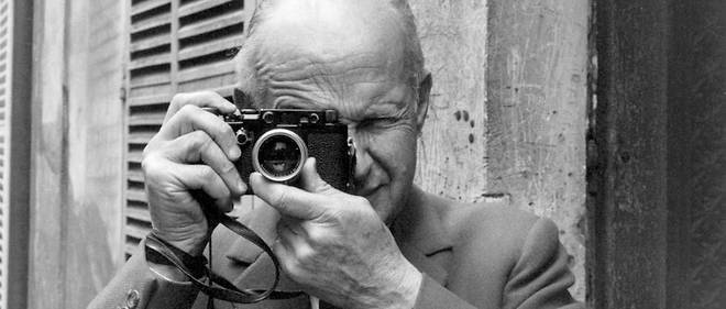 Henri Cartier-Bresson a Paris en 1967.  Courtesy Robert Delpire.