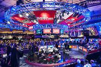 La table finale du Main event des WSOP de Las Vegas en juillet 2017.