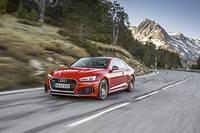 Plus légère et pas moins puissante, l'Audi RS 5 a troqué son V8 contre un V6 biturbo qui affole les chronos.