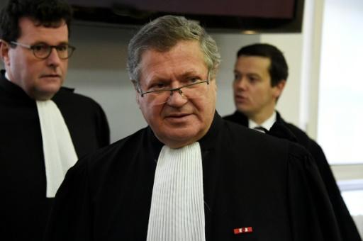 L'avocat de la Société Générale, Jean Veil, à la cour d'appel de Versailles, le 20 janvier 2016 © DOMINIQUE FAGET AFP/Archives
