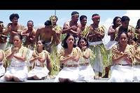 Danseuses des îles Chuuk.