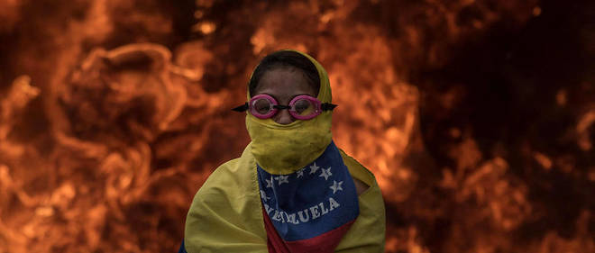 Manifestations à Caracas en avril contre le gouvernement Maduro