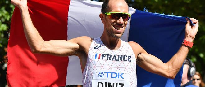 Yohann Diniz a remporté le titre sur 50m marche.