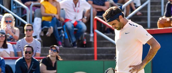 Roger Federer s'est bloqué le dos en finale de Montréal.
