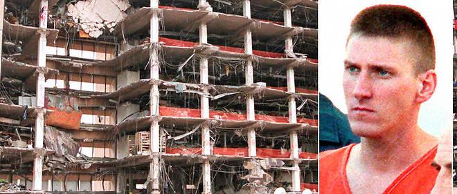 En 1995, Timothy McVeigh (à droite) avait perpétré un attentat à Oklahoma City qui avait fait 168 morts et 674 blessés.